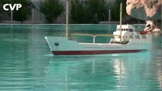 CVP - RC Kumo Cargo ship and Pusher Boat