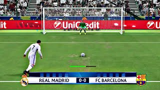 PES 2017 - Penalty Shootout [Barcelona Vs Real Madrid]
