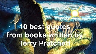 Terry Pratchett - top 10 funny quotes from his Discworld books