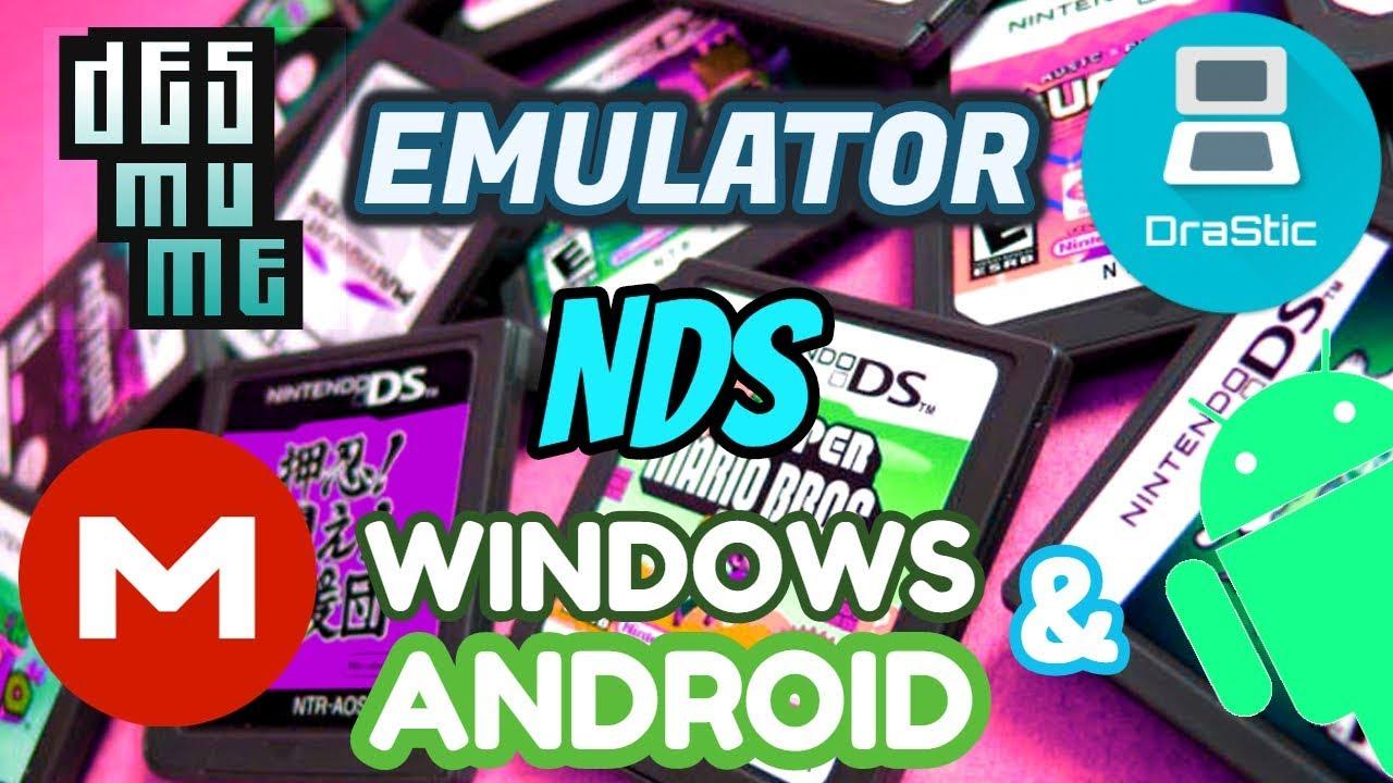 EMULATOR Nintendo DS PC & ANDROID 2018 - Download MEGA - Descargar por MEGA  by Classic Games