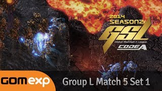 Code A Group L Match 5 Set 1, 2014 GSL Season 2
