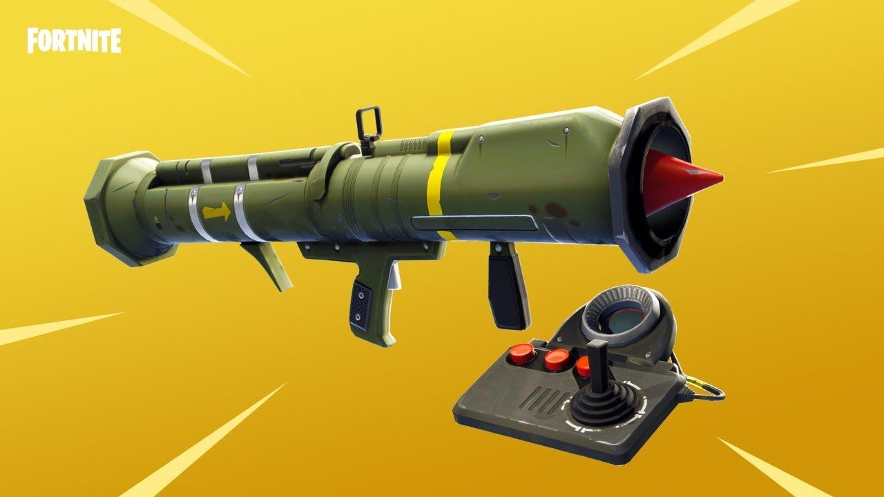 ракета в Fortnite