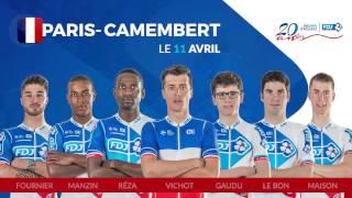 Composition de l'équipe FDJ pour Paris-Camembert