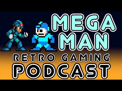 Megaman - Retro Gaming Podcast (Gaming In The Yeltsin Years Episode 1 With Nick, Sin, JSF)