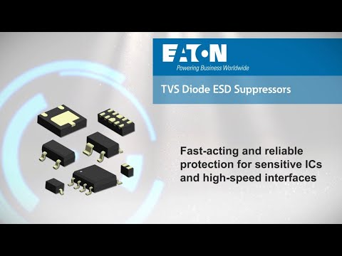 TVS Diode ESD Suppressors from Eaton