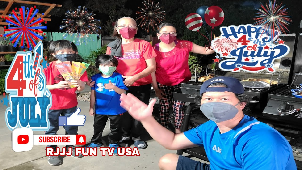 4TH OF JULY FIREWORKS AND BACKYARD DINNER/ HAPPY 4TH OF JULY /TNT FIREWORKS ON 4TH OF JULY