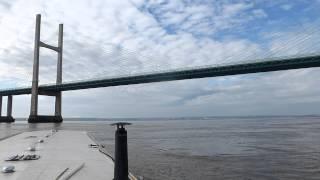 White knuckle ride under 2nd Severn Bridge