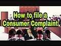 How to file a Consumer complaint- An unedited video shot in 1 take- Anupam Tripathi