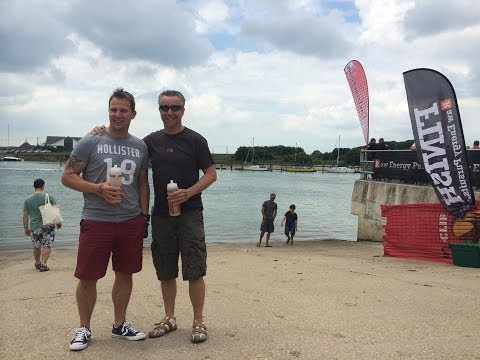 ironman swim river Arun 2014