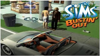 The Sims Bustin' Out Playstation 2 Walkthrough Part 15 - Going broke?