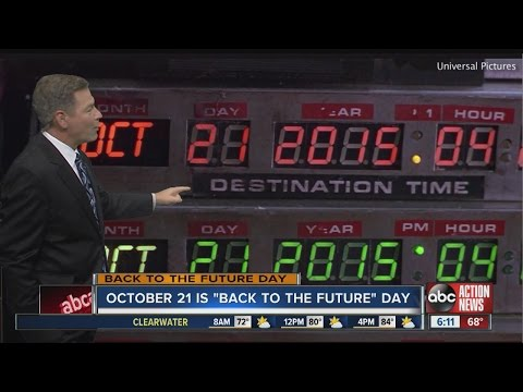 October 21, 2015: Celebrate 'Back to the Future' Day