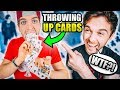 How to THROW UP Cards - Now You See Me Style