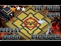 TH 9 (TOWN HALL 9) ANTI-AIR 2 STARS WAR BASE 2017 || THE BIG-BOOM || REPLAY PROOF || CLASH OF CLANS