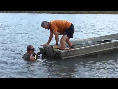 Moving the sunken log