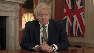 video: Schools closed and people told to stay home as Boris Johnson announces new national lockdown