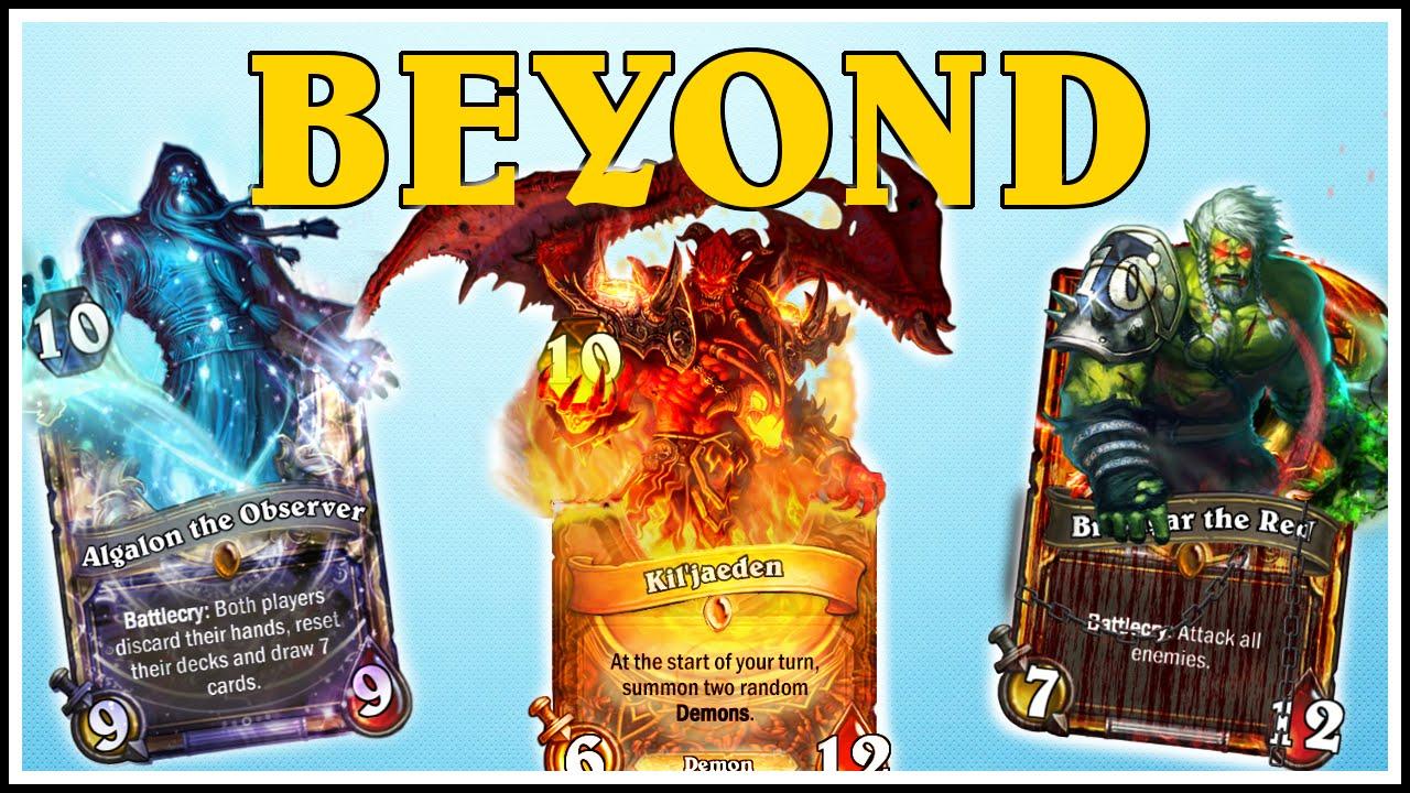 Hearthstone 4 Beyond Legendaries 6 Golden Legendaries