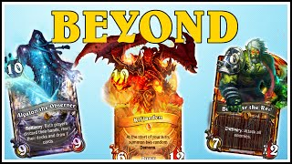 Hearthstone - 4 Beyond Legendaries, 6 Golden Legendaries