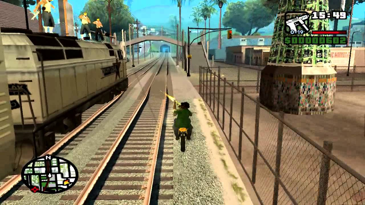 GTA San Andreas Mission 13 Wrong Side of The Tracks (PC) - YouTube
