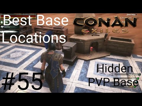 Conan Exiles Best Base Locations 2021 Conan Exiles Best Base Locations #55 Hidden PVP Base