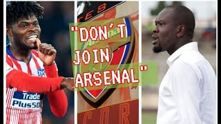 PARTEY ADVISED BY CK AKONNOR NOT TO JOIN ARSENAL. TALKS NKETIAH, INAKI WILLIAMS & KP BOATENG ISSUES