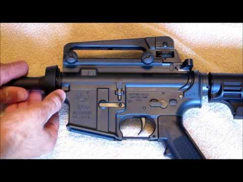 Colt Umarex M4 Takedown Instructions Part 1