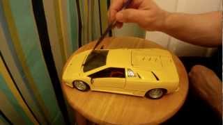 ASMR Brushing, Whispering - Model Car Rambling