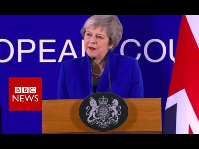 """Theresa May: """"I will make the case for this deal with all my heart"""" - BBC News"""