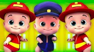 cinco pequeños bebés | saltando rimas para niños | rimas en español | Five Little Babies Song