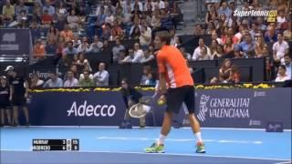 Andy Murray v Tommy Robredo Valencia Open 2014 Final