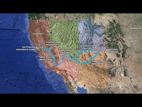 USA TRIP: California, Nevada, Utah, Arizona