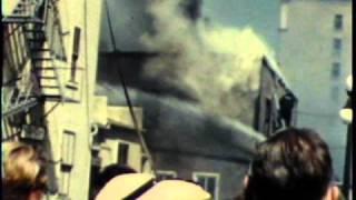 1954 Saskatoon Fire 1st Avenue near Windsor Hotel Bonney Walters party