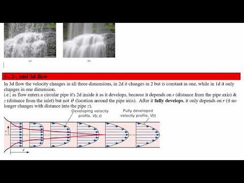 3O04 L01, Intro to FluidMech, No-Slip Condition, Flow Classification, Vapour Pressure