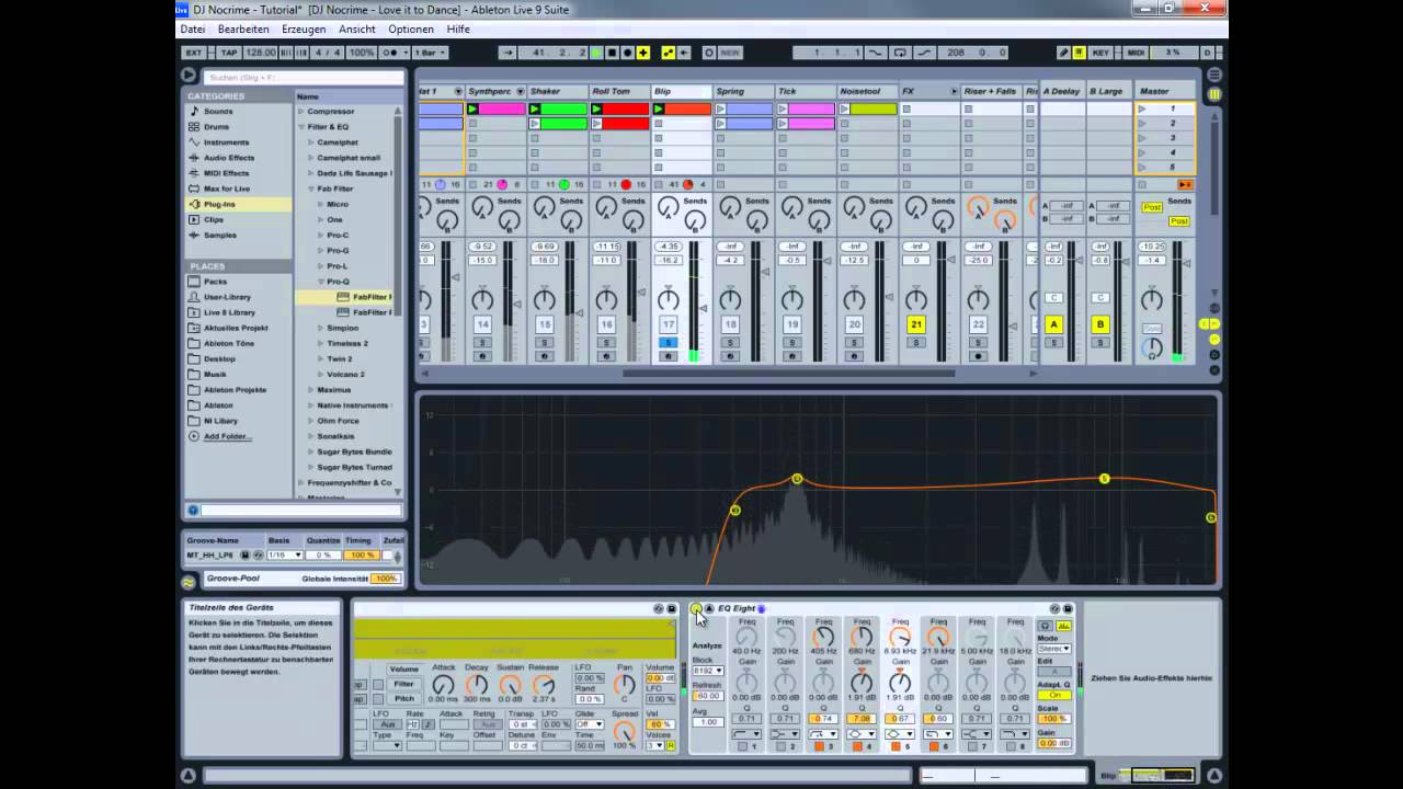 how to use eq in mastering