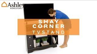 Ashley HomeStore   Shay Corner TV Stand
