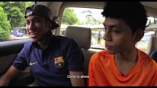 Mano a mano con Neymar Jr.