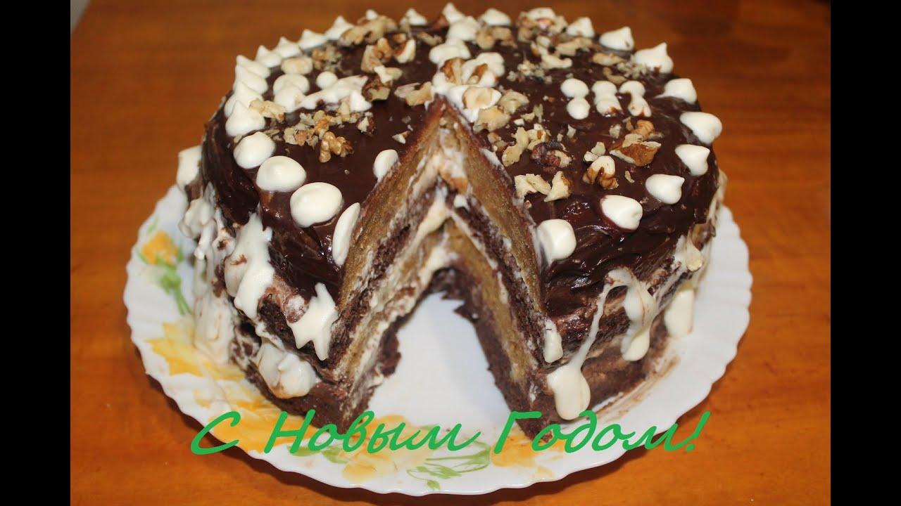 новогодний торт 2015 как приготовить