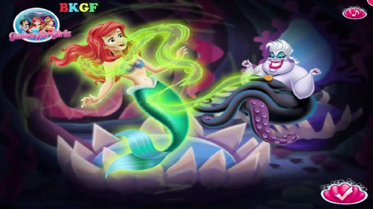 disney ariel story best kid games free game baby movie - Disney Kids Games Free