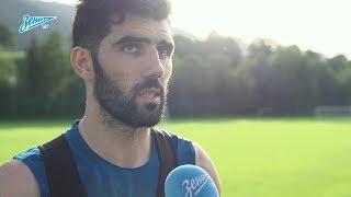 Луиш Нету на «Зенит-ТВ»: о Кубке Конфедераций, коротком отпуске и тренировках с Манчини