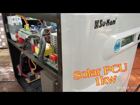 Sukam Solar PCU 24volt 1kw Double Battery Wala Solar Energy