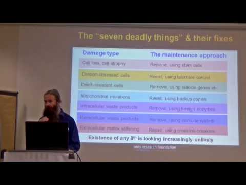 Damage Repair for People whose Hearts are Still Beating - Aubrey de Grey - 2014 in Dresden