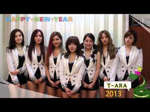 T-ARA 2013 새해인사!! Happy New Year