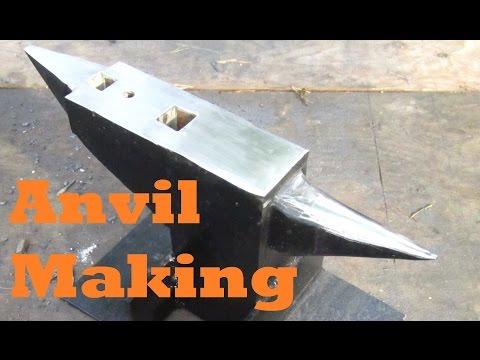 BLACKSMITHING Making an Anvil