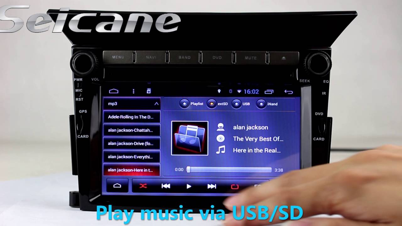 model honda pilot android  radio dvd player aftermarket navigation support