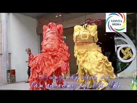Cung cấp múa lân, múa sư tử. Cho thuê đội lân sư rồng tại Hà Nội 0977 579 928