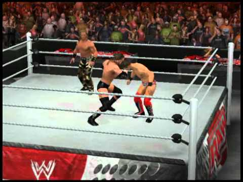 WWE SVR 2011 - Sweet Chin Music Into Pedigree!