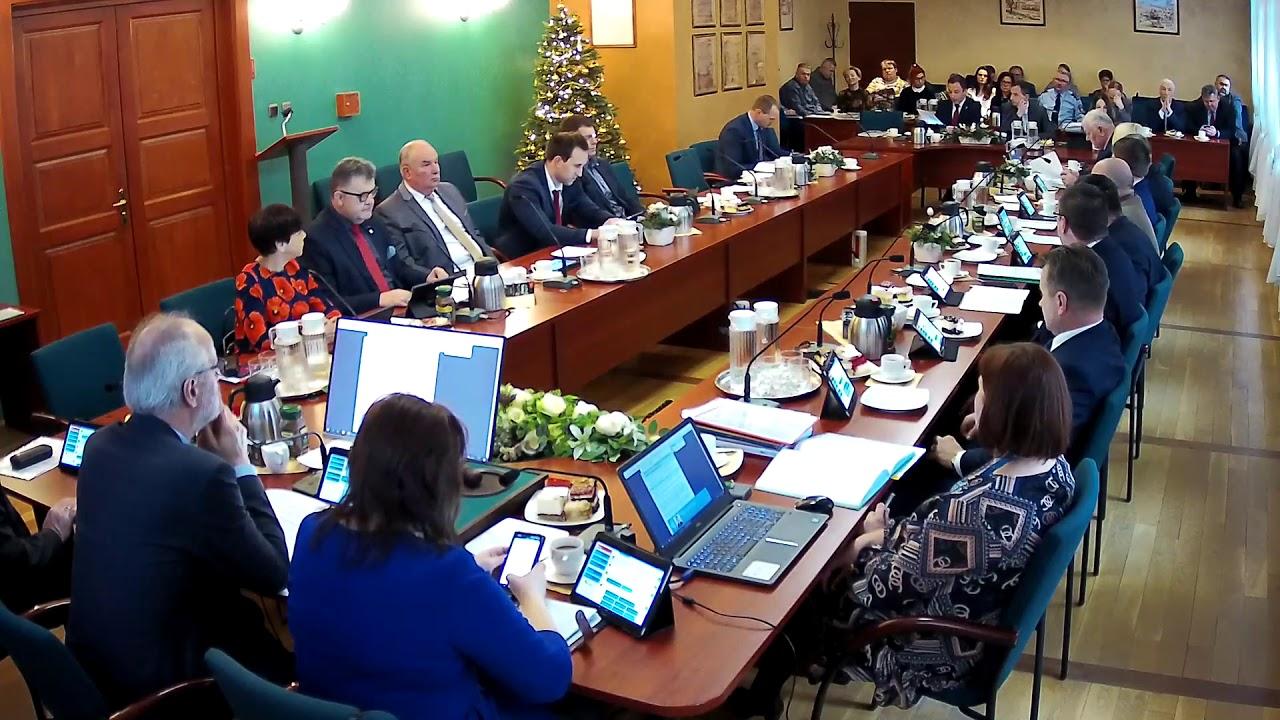 XVI Sesja Rady Miejskiej w Wolsztynie