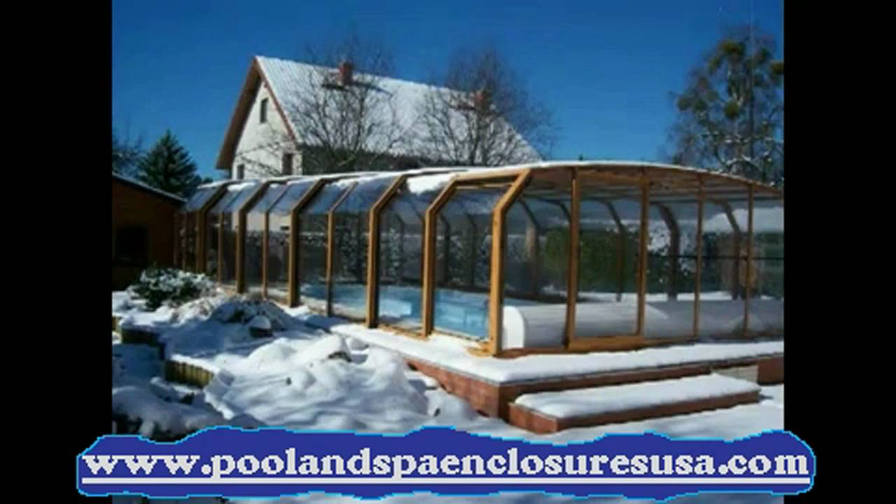 Pool Spa Hot Tub And Sunroom Winter Enclosure Slideshow Youtube