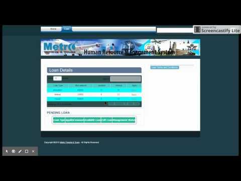 H R System-Loan Module