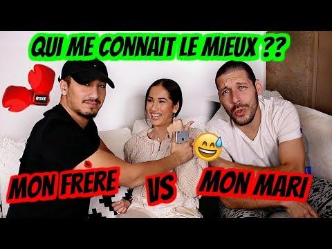 MON MARI VS. MON FRÈRE (QUI ME CONNAIT LE MIEUX??)😅