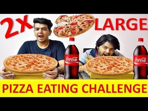 2x Large Pizza Eating Challenge | Pizza Eating Competition | Food Challenge India | Episode 04 thumbnail